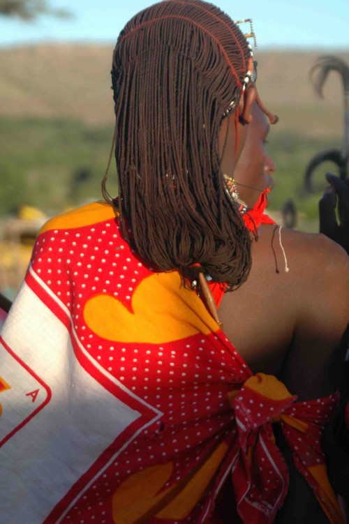 1_Maasai Warrior