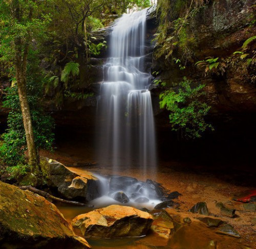23_Horseshoe Falls, Blue Mountains NP, Hazelbrook, NSW, Australia