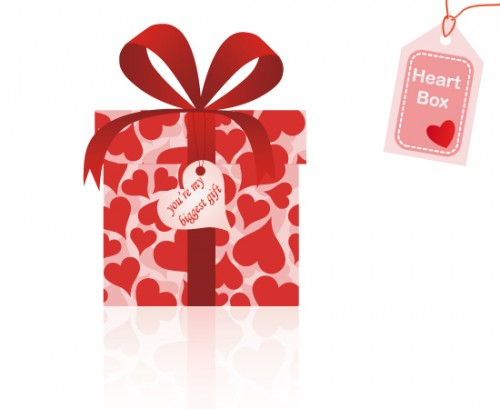 23_Vector Heart Box