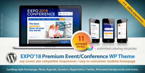 28_Expo18 Responsive Event Conference WordPress Theme