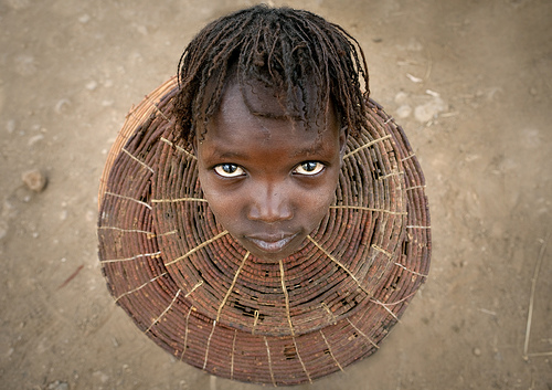 28_Pokot Girl With the Traditional Necklace - Kenya