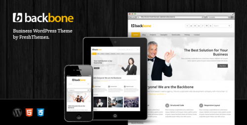 2_Backbone - Responsive Business WordPress Theme