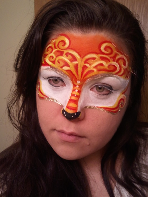 Gallery For gt Fox Face Paint
