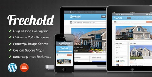 3_Freehold - Responsive Real Estate Theme