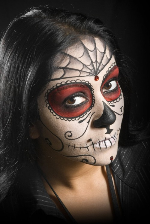 40_Sugar Skull Face Paint