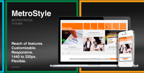 4_MetroStyle Responsive All Purpose Wordpress Theme