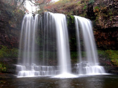 57_Waterfall In The Brecon Beacons, Wales, UK