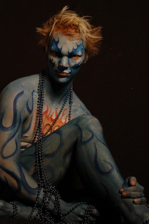 8_Justin Body Painting
