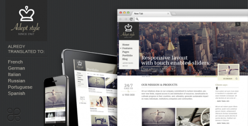 9_Adept Style Responsive for Business Portfolio