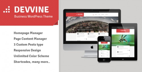 10_Devvine - Clean Business WordPress Theme