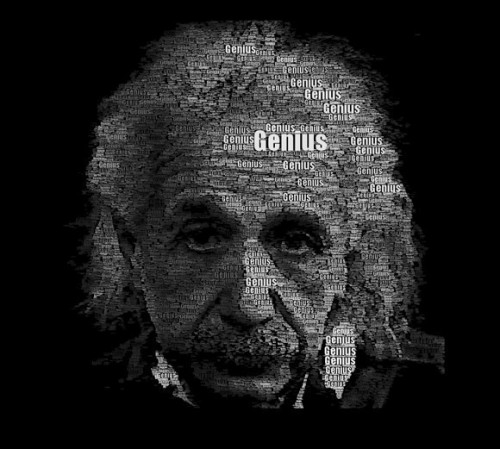 12_Einstein Word Portrait