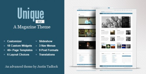 12_Unique - Customizable WordPress Magazine Theme