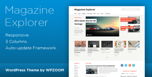 13_Magazine Explorer - WordPress Theme