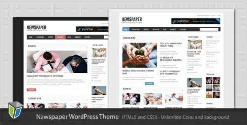 14_Newspaper - Blog and Magazine WordPress Theme