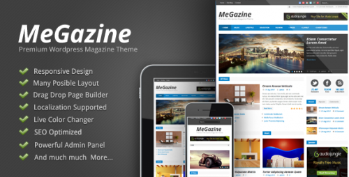 15_Megazine - Responsive WordPress Theme