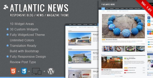 16_Atlantic News - Responsive WordPress Magazine Blog