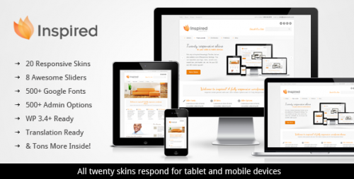 16_Inspired Responsive Business WordPress Theme