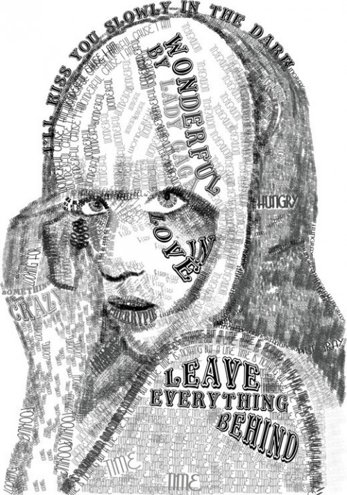 17_Lady Gaga Typography