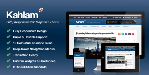 18_Kahlam - Responsive WordPress Magazine Theme
