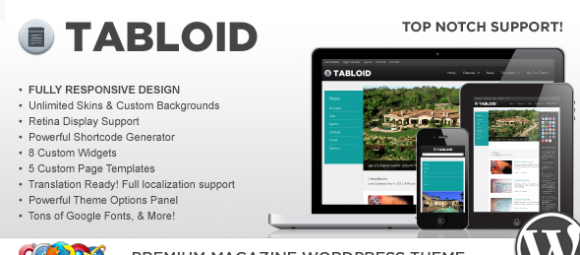 1_WP Tabloid Responsive News & Magazine Theme