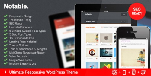 20_Notable - Responsive Business & Portfolio WP Theme