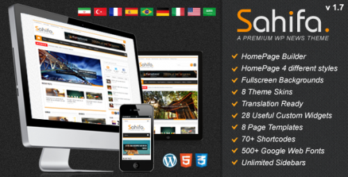 20_Sahifa - Responsive WordPress News, Magazine, Blog