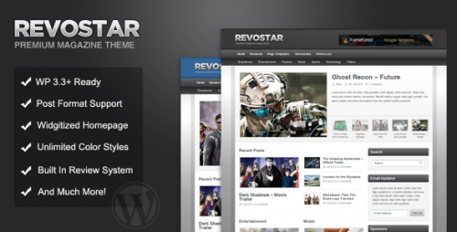 21_RevoStar - WordPress Magazine, Review Theme