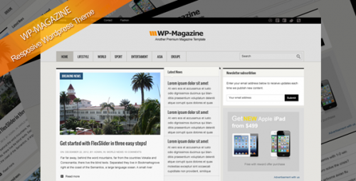 22_WP-Magazine Responsive WordPress Theme