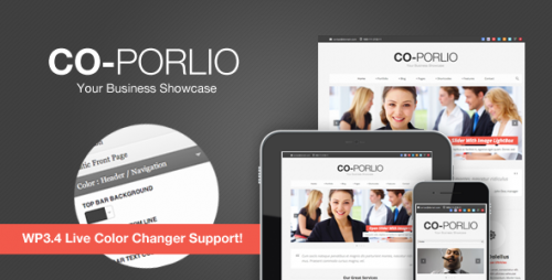 23_Co-Porlio - Feature Rich Wordpress Theme