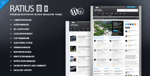 25_Ratius - Responsive Review Magazine Theme
