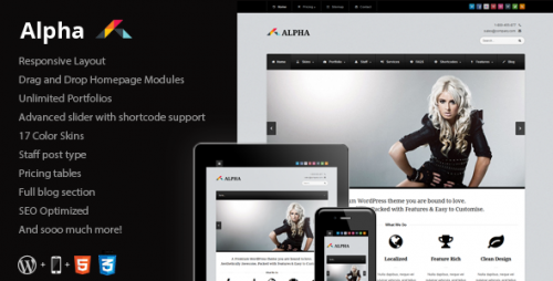 26_Alpha - Responsive Business WordPress Theme