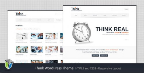 27_Think - Responsive Corporate WordPress Theme
