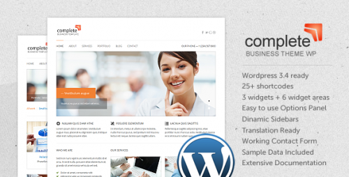 29_Complete WP - Business, Corporate WordPress Theme