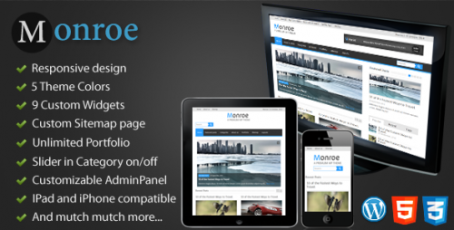 2_Monroe - Responsive WordPress Magazine, News