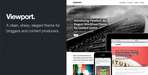 35_Viewport - Responsive Magazine WordPress Theme