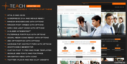 37_Teach - Flexible Business Portfolio WP Theme