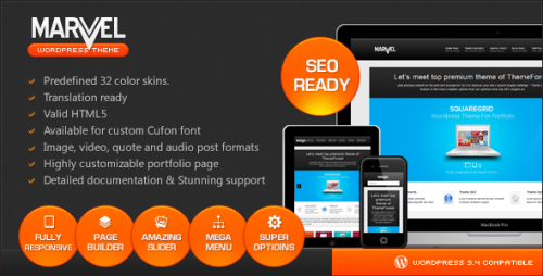 38_Marvel - SEO Optimized Business Responsive theme