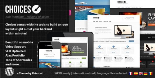 39_Choices - Responsive Business and Portfolio
