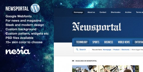 3_Newsportal - Responsive News and Magazine Theme