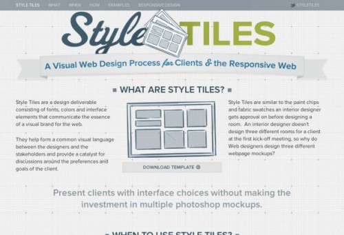 4_Style Tiles