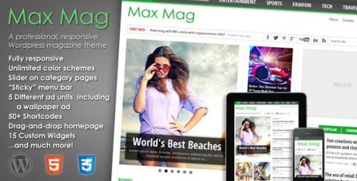 6_Max Mag - Responsive Wordpress Magazine Theme