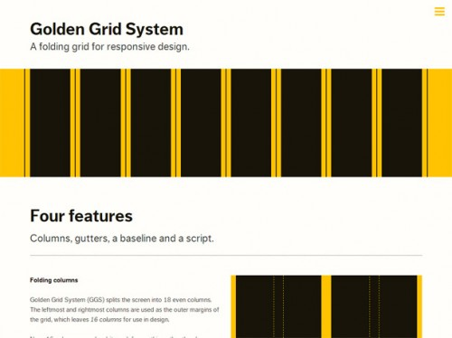 8_ Golden Grid System