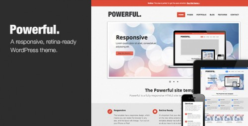 8_Powerful - Responsive, Retina-Ready Theme