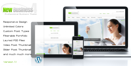 9_New Business 4 - Responsive Wordpress Theme