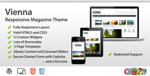 9_Vienna - Responsive Wordpress Magazine Theme