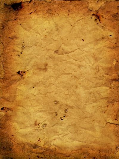 19_Coffee Stained Burnt Crumpled Paper - Texture