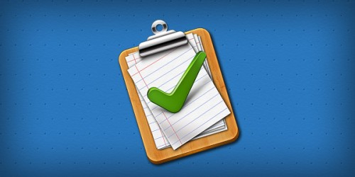 23_Tick Mark Approved Clipboard Icon (PSD)
