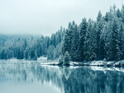 23_Winter Lake