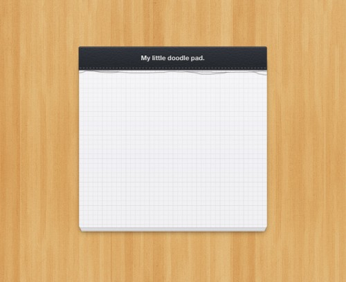 24_Little Notepad Design (PSD)
