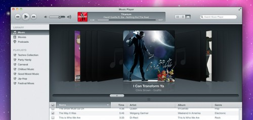 25_iTunes Inspired Music Player (PSD)
